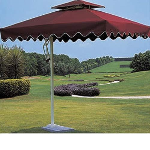 Luxury Square Shape Side Pole Outdoor Umbrella