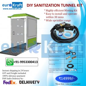 DIY Sanitization tunnel Kit Mist Spraying Kit